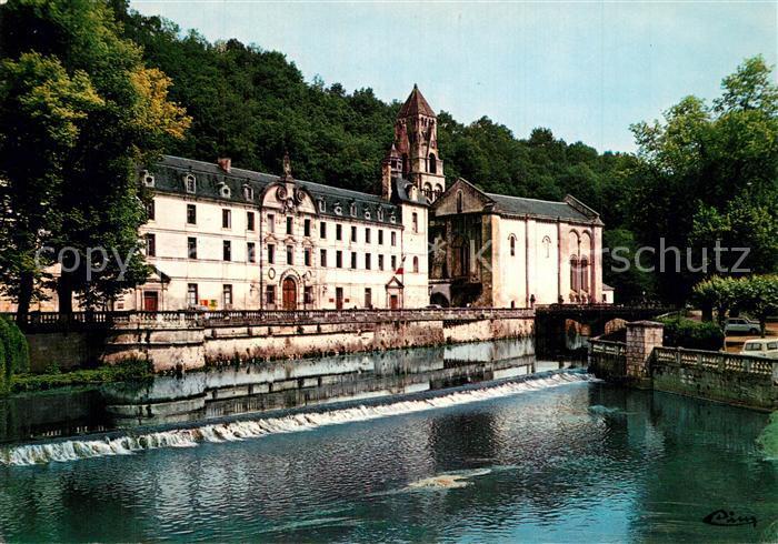 AK / Ansichtskarte Brantome Ancienne Abbaye et l Eglise Brantome 0
