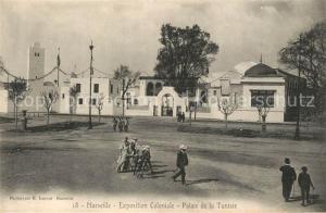 AK / Ansichtskarte Exposition_Coloniale_Marseille_1922  Palais de la Tunisie  Exposition_Coloniale