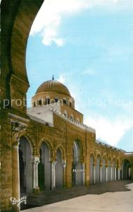 AK / Ansichtskarte Kairouan_Qairawan Tour de la Grande Mosquee Kairouan Qairawan