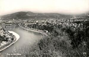 AK / Ansichtskarte Linz_Donau Panorama Linz_Donau
