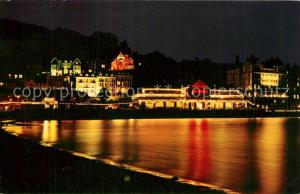 AK / Ansichtskarte Llandudno_Wales Seaside resort at night Llandudno_Wales