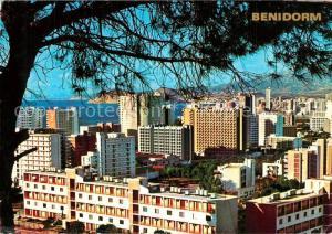 AK / Ansichtskarte Benidorm Stadtpanorama Benidorm