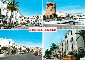 AK / Ansichtskarte Puerto_Banus Stadtansichten Hafen Turm