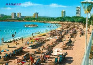 AK / Ansichtskarte Magaluf_Mallorca Strand Hotels Magaluf Mallorca