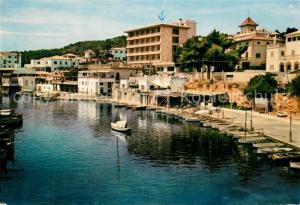 AK / Ansichtskarte San_Agustin_Palma_de_Mallorca Hafen Uferstrasse