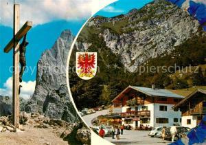 AK / Ansichtskarte Kirchdorf_Tirol Stripsenjochkreuz Predigtstuhl Unterkunftshaus Griesneralm Naturschutzgebiet Wilder Kaiser Kirchdorf Tirol