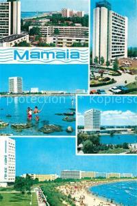AK / Ansichtskarte Mamaia Teilansichten Hotel Hochhaus Strand Mamaia