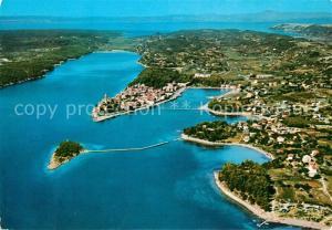 AK / Ansichtskarte Rab_Croatia Fliegeraufnahme Rab_Croatia