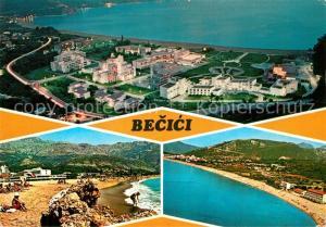 AK / Ansichtskarte Becici Strand Hotel Ferienanlage Fliegeraufnahme Becici