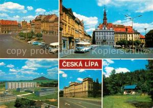 AK / Ansichtskarte Ceska_Lipa_Boehmisch_Leipa Innenstadt Altstadt Gebaeude Ceska_Lipa_Boehmisch_Leipa