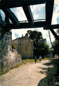 AK / Ansichtskarte Ile d_Aix Pont Levis a la sortie du bourg et l'eglise St Martin Ile d_Aix