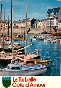 AK / Ansichtskarte La_Turballe Port Voiliers Collection Couleurs de la Cote d Amour La_Turballe