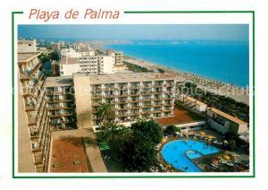 AK / Ansichtskarte El_Arenal_Mallorca Playas de Palma Hotels Swimming Pool Strand El_Arenal_Mallorca