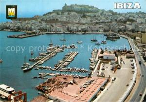 AK / Ansichtskarte Ibiza_Islas_Baleares Isla Blanca Puerto vista aerea Ibiza_Islas_Baleares