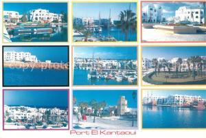 AK / Ansichtskarte El Kantaoui Vues d ensemble du port El Kantaoui
