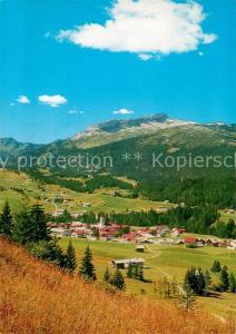AK / Ansichtskarte Riezlern_Kleinwalsertal_Vorarlberg Panorama Blick zum Hoch Ifen Allgaeuer Alpen Riezlern_Kleinwalsertal