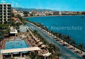 AK / Ansichtskarte Palma_de_Mallorca Vista del puerto desde El Terreno Palma_de_Mallorca