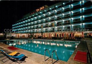 AK / Ansichtskarte Can_Picafort_Mallorca Hotel Gran Vista Piscina de noche Can_Picafort_Mallorca