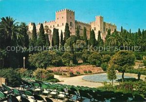 AK / Ansichtskarte Rhodos_Rhodes_aegaeis Palais des Chevaliers Ritterpalast Rhodos_Rhodes_aegaeis