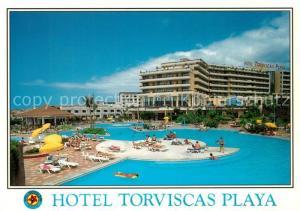 AK / Ansichtskarte Torviscas_Playa Hotel Torviscas Playa Piscina