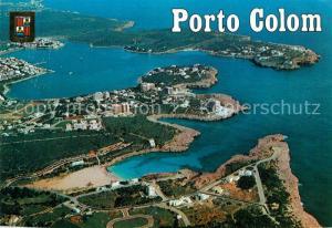 AK / Ansichtskarte Porto_Colom Fliegeraufnahme Porto Colom