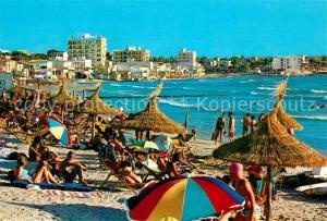 AK / Ansichtskarte El_Arenal_Mallorca Detalle de sus playas El_Arenal_Mallorca