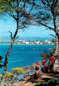 AK / Ansichtskarte El_Arenal_Mallorca Vista parcial El_Arenal_Mallorca