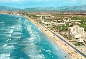AK / Ansichtskarte Palma_de_Mallorca Vista aerea de las playas Palma_de_Mallorca