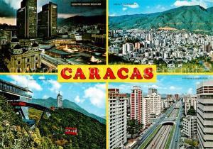 AK / Ansichtskarte Caracas Centro Simon Bolivar Hotel Humboldt Avenida Libertador vista panoramica Caracas