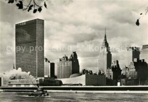 AK / Ansichtskarte New_York_City Seat of the United Nations New_York_City