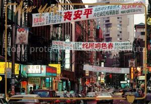 AK / Ansichtskarte New_York_City Chinatown New_York_City
