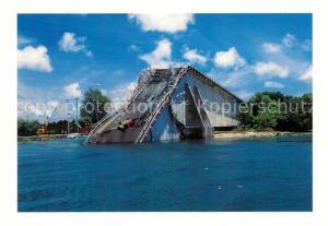 AK / Ansichtskarte Palau Inseln Koror Babeldaob Bridge Palau Inseln