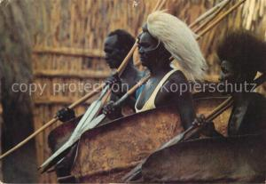 AK / Ansichtskarte Sudan_Africa Shilluk Funeral Dance