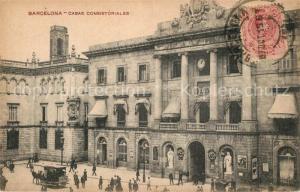 AK / Ansichtskarte Barcelona_Cataluna Casas Consistoriales Barcelona Cataluna