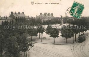 AK / Ansichtskarte Dijon_Cote_d_Or Place de la Republique Dijon_Cote_d_Or