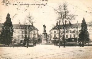 AK / Ansichtskarte Dijon_Cote_d_Or Saint Bernard Place Etienne Dolet Dijon_Cote_d_Or