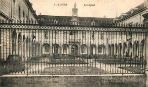 AK / Ansichtskarte Auxonne Hospital Auxonne