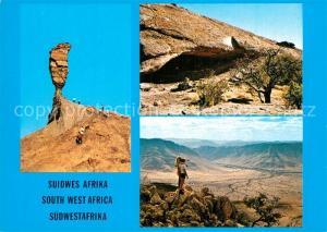 AK / Ansichtskarte Afrika_Africa_Afrique_Volksleben_Typen S?dwestafrika Mukurob Afrika_Africa