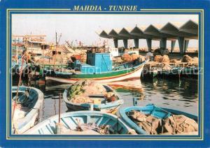 AK / Ansichtskarte Mahdia Hafen Mahdia