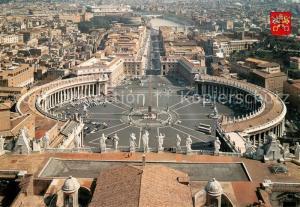 AK / Ansichtskarte Rom_Roma Petersplatz Rom_Roma