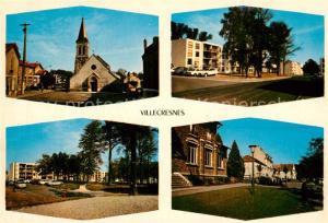 AK / Ansichtskarte Villecresnes Sehenswuerdigkeiten  Villecresnes