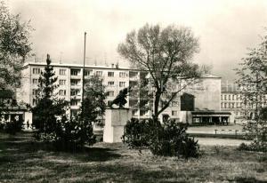AK / Ansichtskarte Sokolov Pomnik Rude armady Sokolov