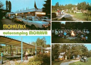 AK / Ansichtskarte Mohelnice Camping Morava Minigolf Mohelnice