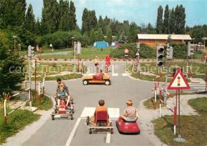 AK / Ansichtskarte Mohelnice Camping Morava Go Kart Bahn Mohelnice