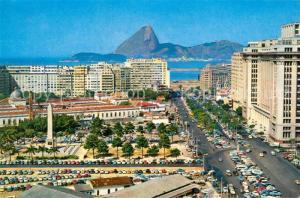 AK / Ansichtskarte Rio_de_Janeiro Av. Pr?sident Antonio Carlos Rio_de_Janeiro