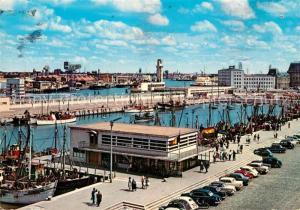 AK / Ansichtskarte Oostende_Ostende Fischereihafen
