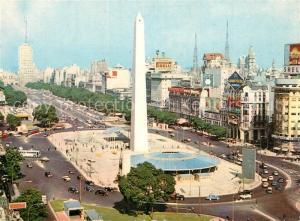 AK / Ansichtskarte Buenos_Aires Obelisk Buenos Aires