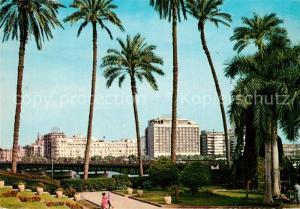 AK / Ansichtskarte Cairo_Egypt Hotel Semiramis and Shepheard Cairo Egypt