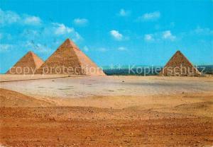 AK / Ansichtskarte Giza Pyramids Giza