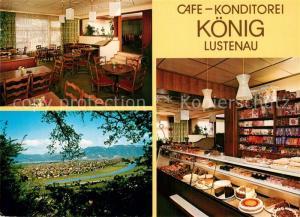 AK / Ansichtskarte Lustenau Cafe Konditorei Koenig Lustenau